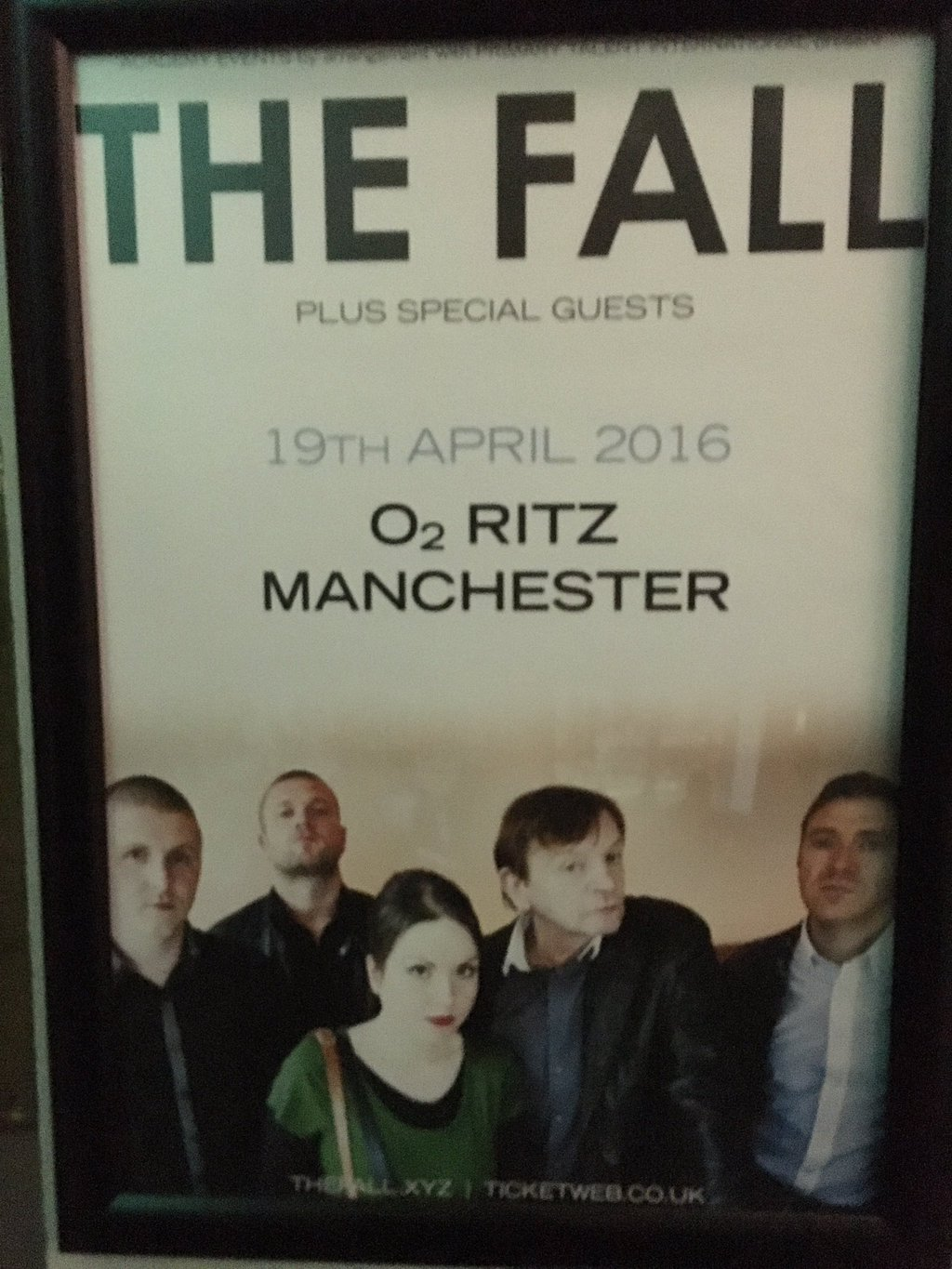 The Fall - O2 Manchester